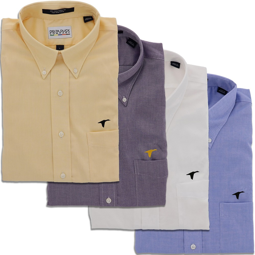 DDC Long Sleeve Oxford Shirts